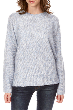 Best Mountain Marled Blue Batwing Sweater - Product List Image