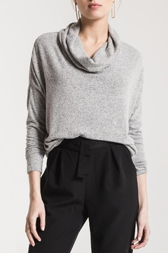 Shoptiques Product: Marled Cowl-Neck Sweater