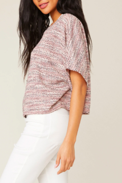 Shoptiques Product: Marled Crop Top