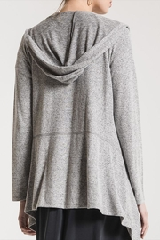 z supply Marled Hooded Cardigan - Side cropped