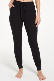 z supply Marled Jogger Pant - Front cropped