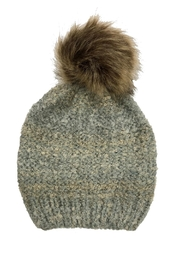 Adrienne Marled Knit Hat - Front cropped
