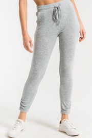z supply Marled Knit Jogger - Front cropped