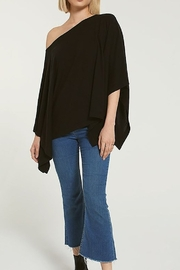 Zsupply Marled Poncho - Side cropped