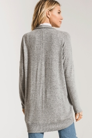 z supply Marled Sweater Knit Coccoon Cardigan - Front full body