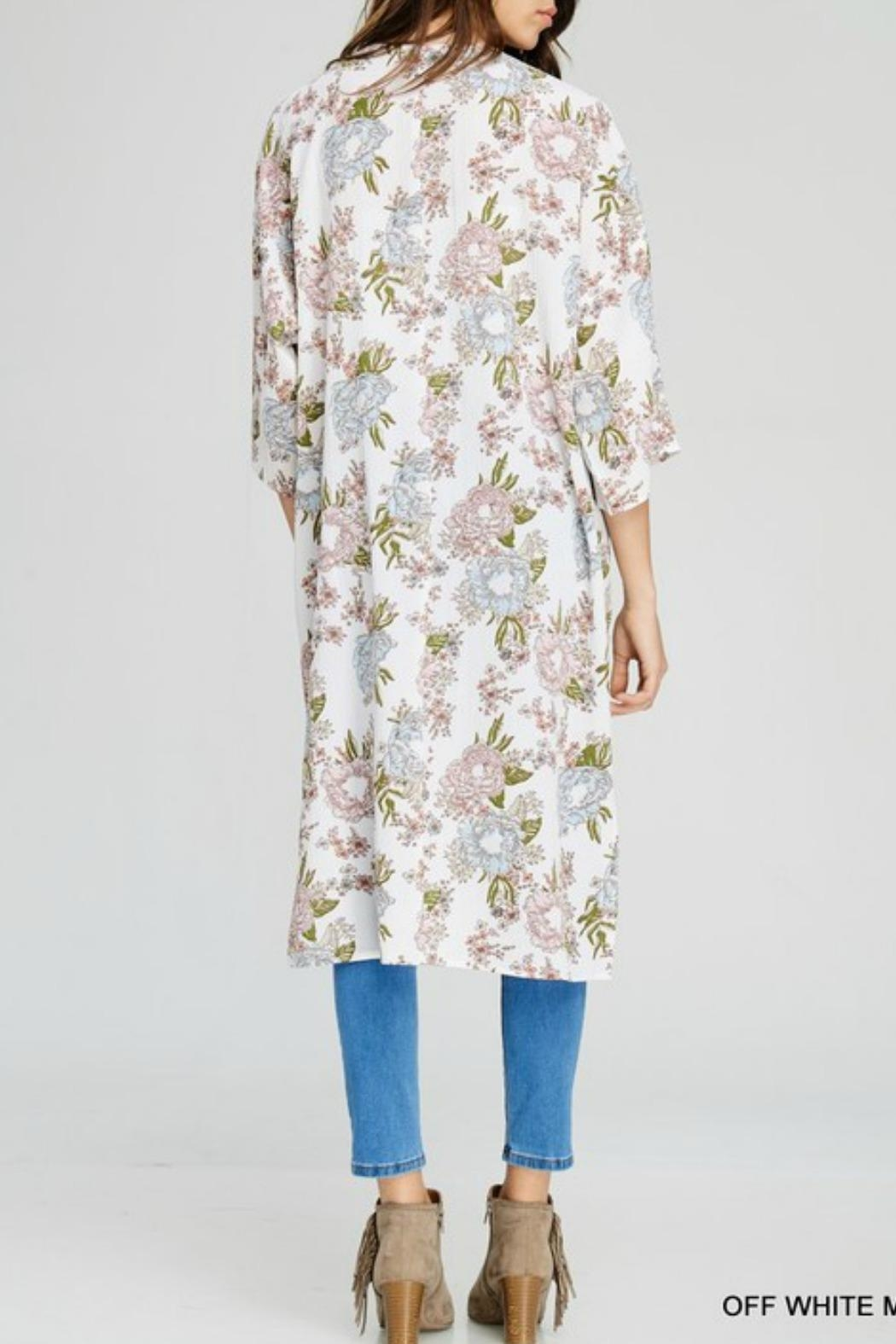 Jodifl Marley Floral Kimono - Front Full Image