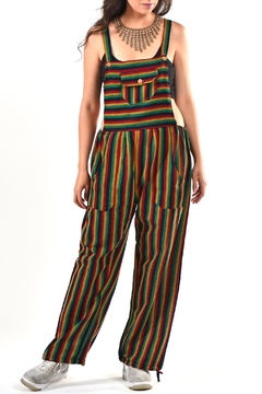 Shoptiques Product: Marley Gauzy Overalls