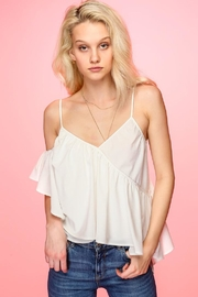 Line & Dot Marlien White Top - Product Mini Image