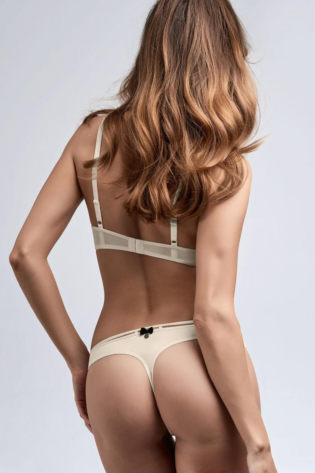 c31169aa30 marlies dekkers Blacktie Thong from Canada by Esprit de la Femme ...