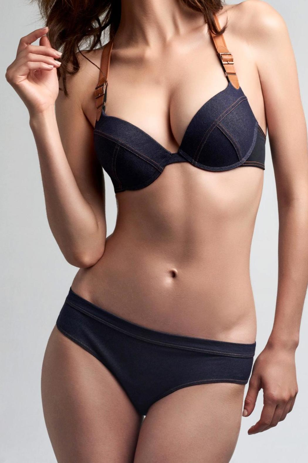 marlies dekkers Denim Brazilian Briefs - Main Image