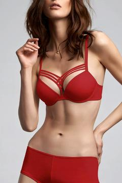 Shoptiques Product: Red Plunge Pushup Bra
