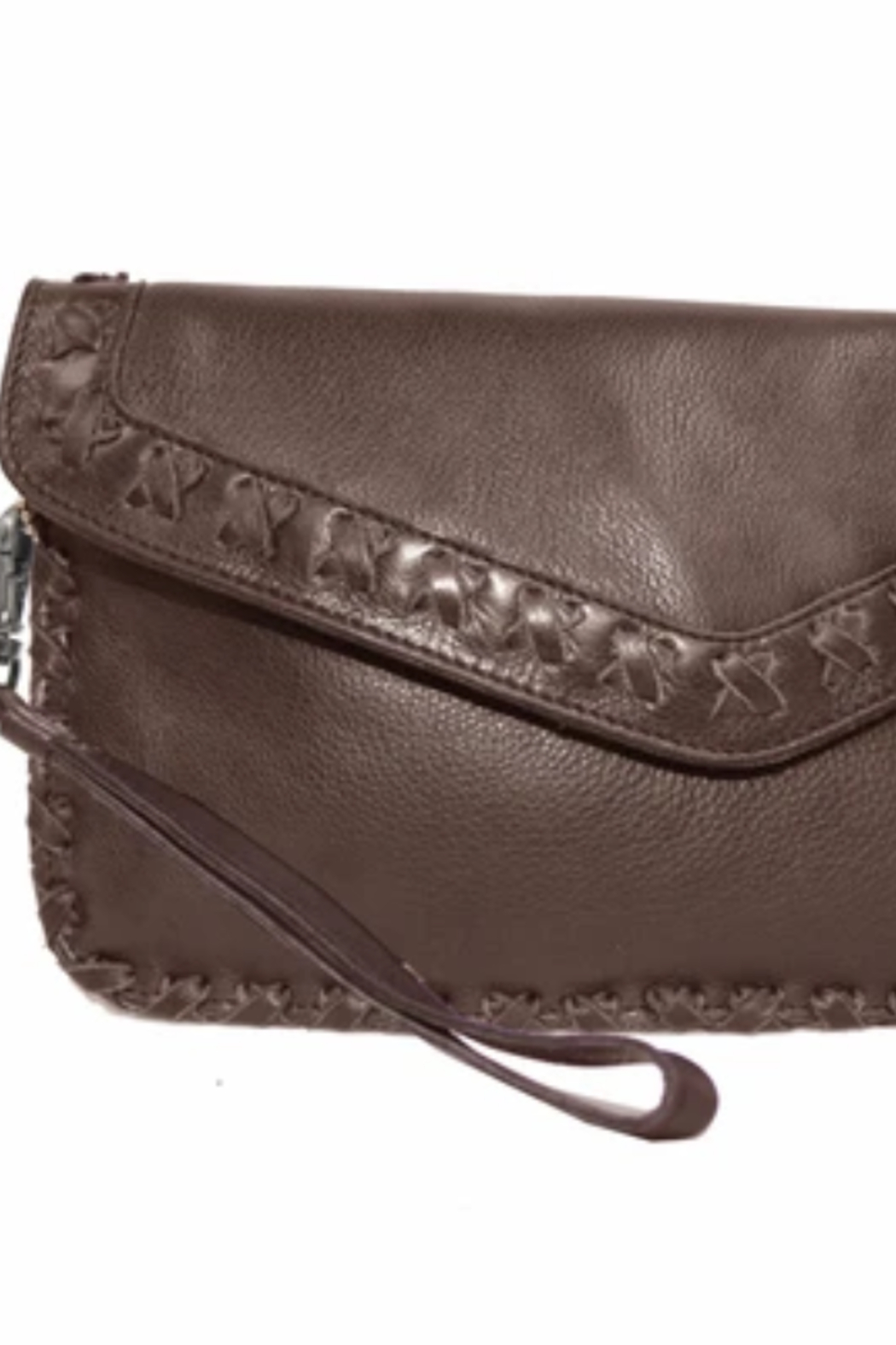 Latico Marlin Wristlet Wallet Clutch - Front Cropped Image