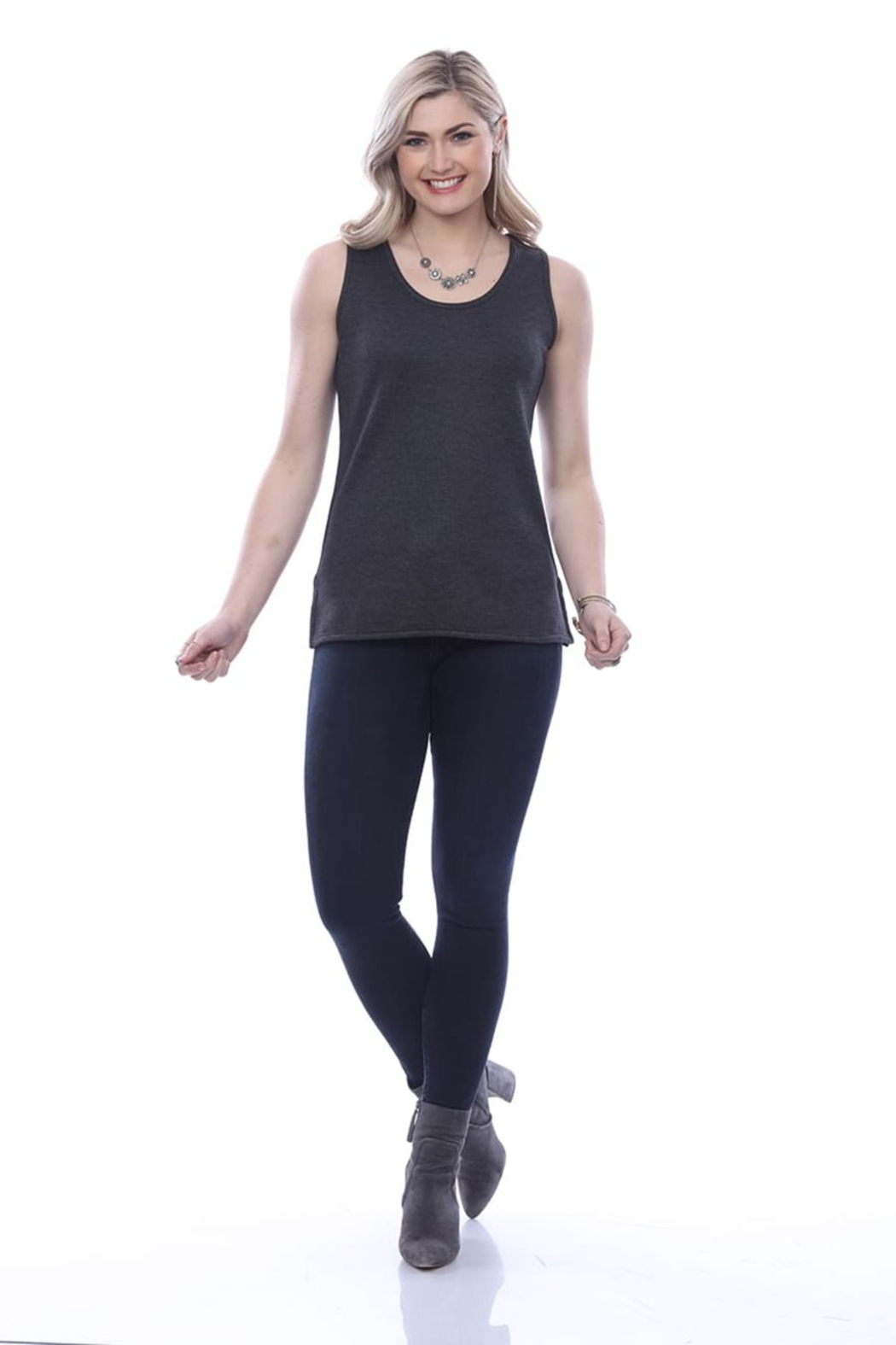 Parsley & Sage Marlow Reversible Tank - Front Cropped Image