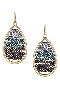 Shoptiques Product: Beaded Teardrop Earring