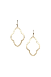 Marlyn Schiff Brushed Moroccan Earrings - Product Mini Image