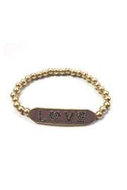 Marlyn Schiff Enamel Love Stretch Bracelet - Product Mini Image