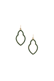 Marlyn Schiff Green Moroccan Earrings - Product Mini Image