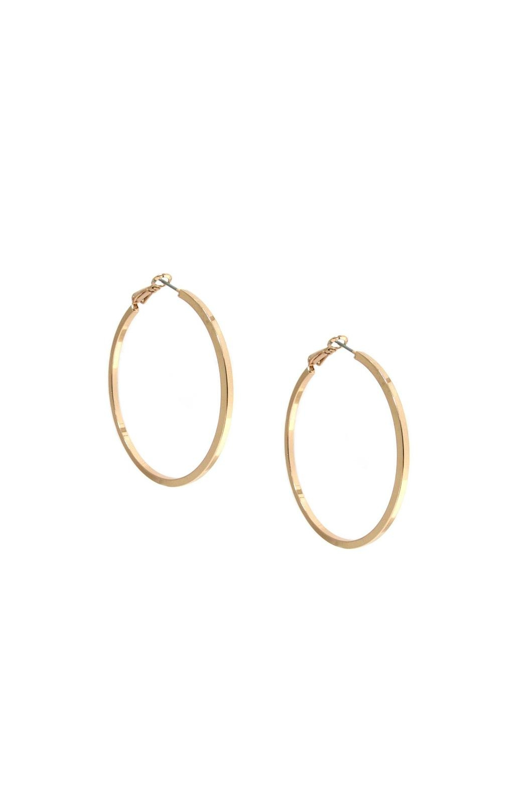 Marlyn Schiff Large Hoop Earrings - Main Image