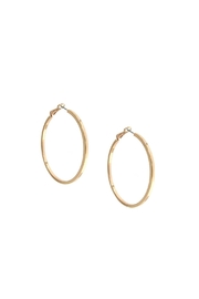 Marlyn Schiff Large Hoop Earrings - Front cropped