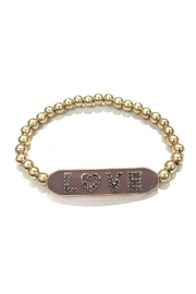 Marlyn Schiff Large Love Beaded-Bracelet - Product Mini Image