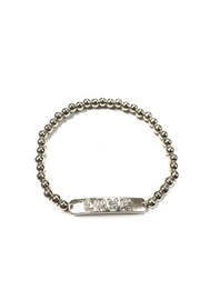 Marlyn Schiff Love Bar Ball Bracelet - Product Mini Image