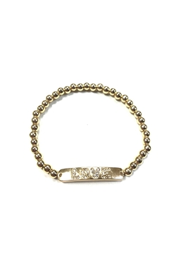 Marlyn Schiff Love Bar Ball Bracelet - Product List Image