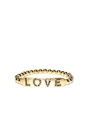 Marlyn Schiff Love Stretch Bracelet - Front cropped