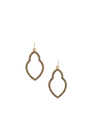 Marlyn Schiff Shimmer Moroccan Earrings - Product Mini Image