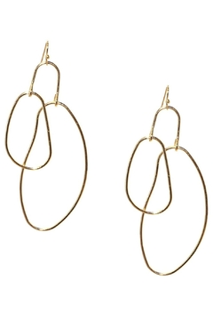 Marlyn Schiff Organic Drop Earrings - Product List Image