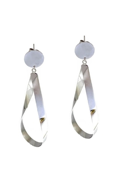 Marlyn Schiff Tear Drop Loop Shape Earring - Alternate List Image
