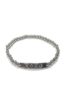 Marlyn Schiff Xoxo Beaded Bracelet - Product List Image
