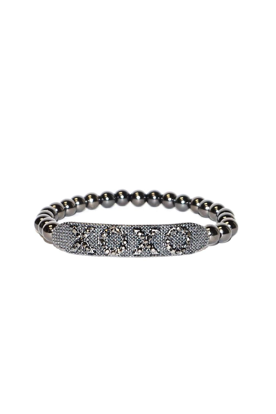 Marlyn Schiff Xoxo Stretch Bracelet - Front Cropped Image