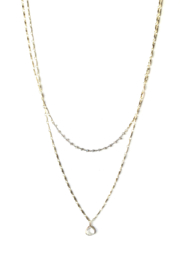 Midori Marna Double Tiered Necklace - Product Mini Image