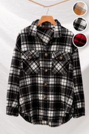 Trend:notes Marney Flannel Shirt - Product Mini Image
