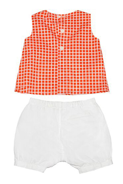 Marni Checkered Sleeveless Dress - Product List Image