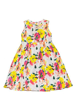 Marni Colorful Floral Dress - Alternate List Image