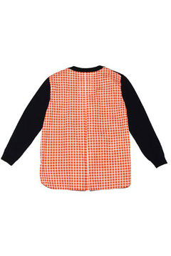 Marni Inside Checker Knit Sweater - Alternate List Image