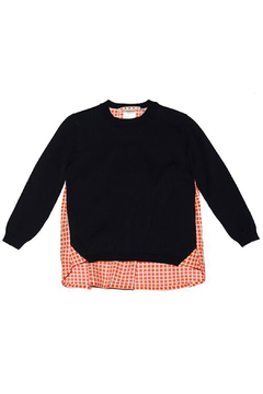 Marni Inside Checker Knit Sweater - Product List Image