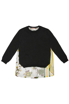 Marni Floral Striped Sweater - Product List Image