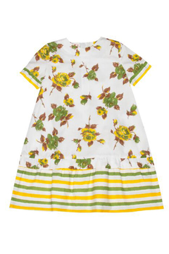 Marni Short Sleeve Floral Dress - Product List Image