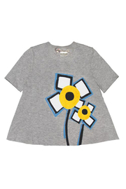 Marni Short Sleeve Flower T-shirt - Product Mini Image
