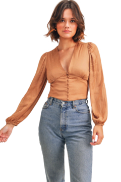 Reset By Jane  Marnie Long Sleeve Top - Product List Image