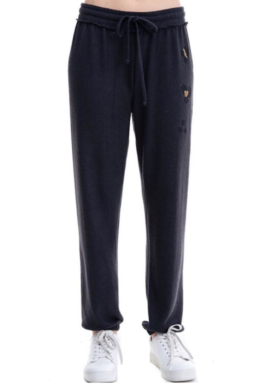 Maronie  Brush Knit Jogger - Front Cropped Image