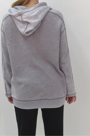 Maronie  Comfy Washed Hoodie - Back cropped