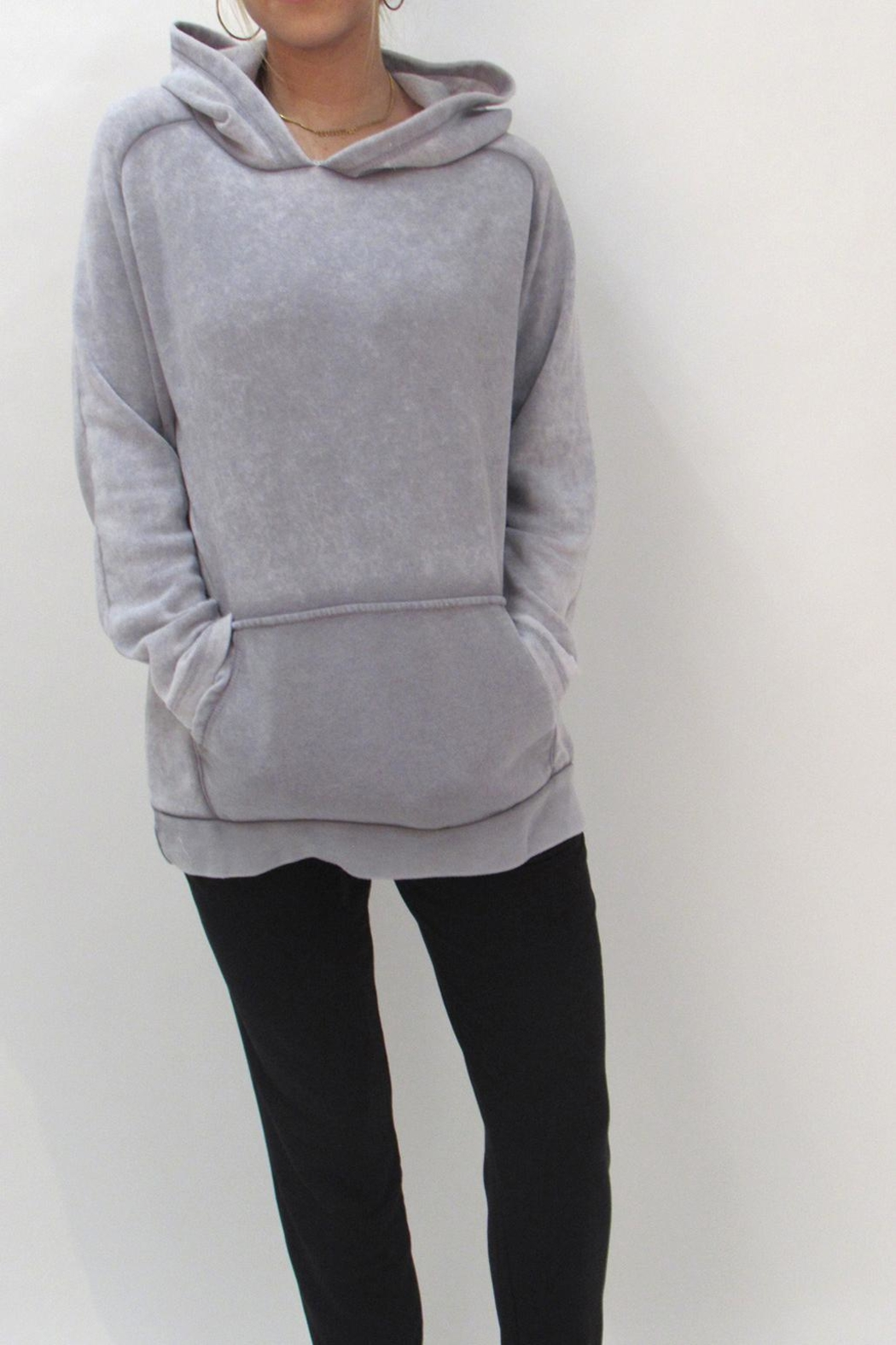 Maronie  Comfy Washed Hoodie - Front Full Image