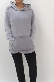 Maronie  Comfy Washed Hoodie - Front full body