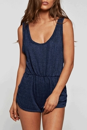Maronie  Grace Romper Navy - Product Mini Image