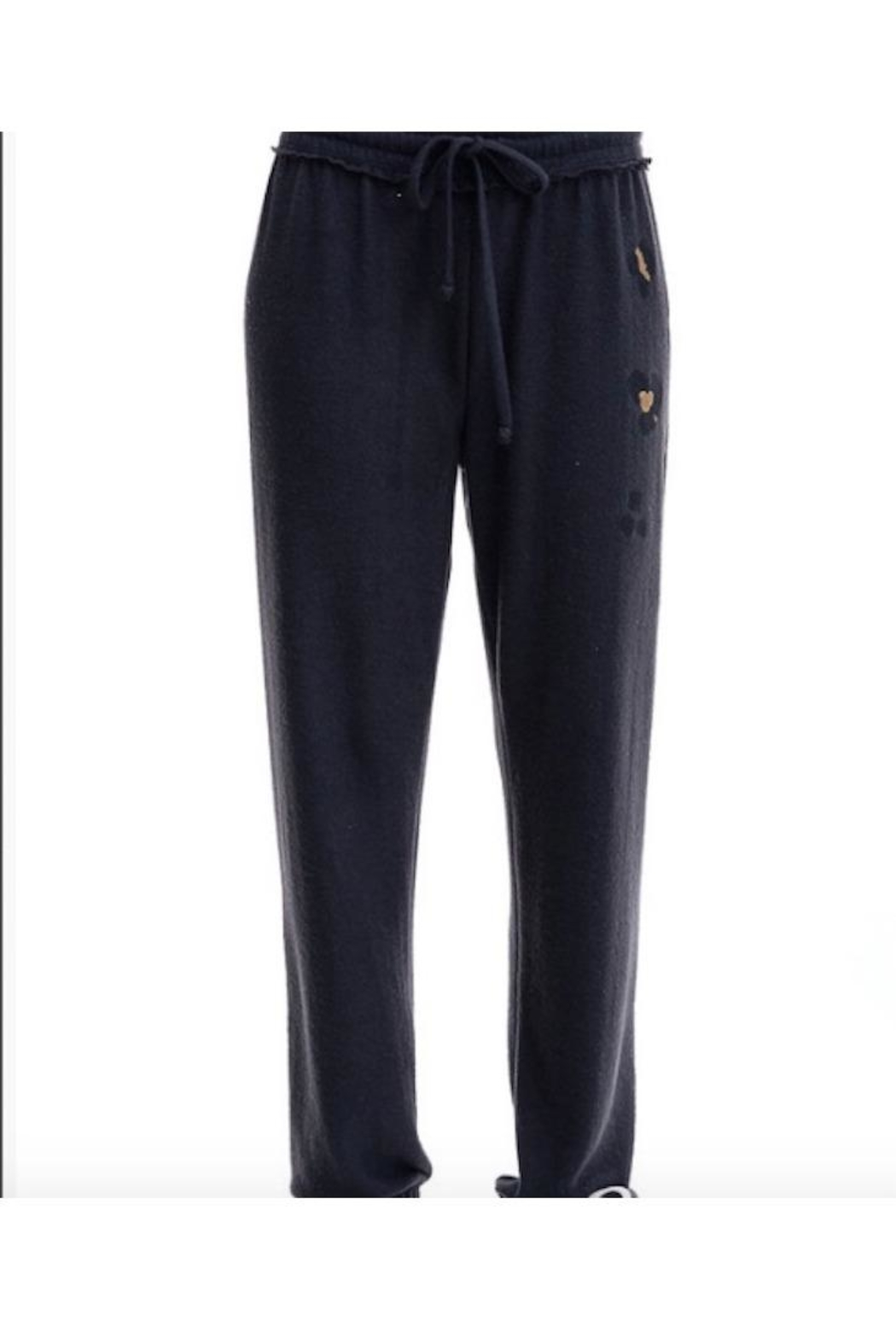 Maronie  Hacci Brush Knit Jogger - Front Cropped Image