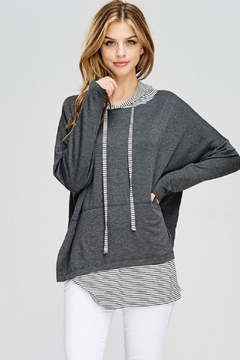 Shoptiques Product: Layered Hoodie