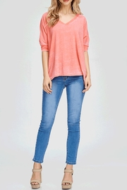 Maronie  Natalie Top Pink - Front cropped